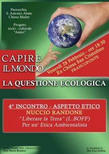 Locandina Questione Ecologica