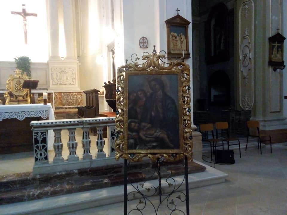 Quadro Madonna Della Neve