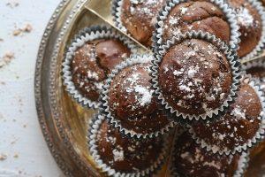 Cupcakes Al Cioccolato alzatina