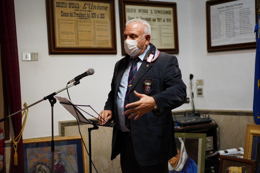Il volontariato ai tempi del Covid Maresciallo Capo Vincenzo Lo Terzo