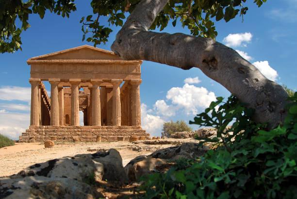 Storia della lingua siciliana. Tempio Di Agrigento