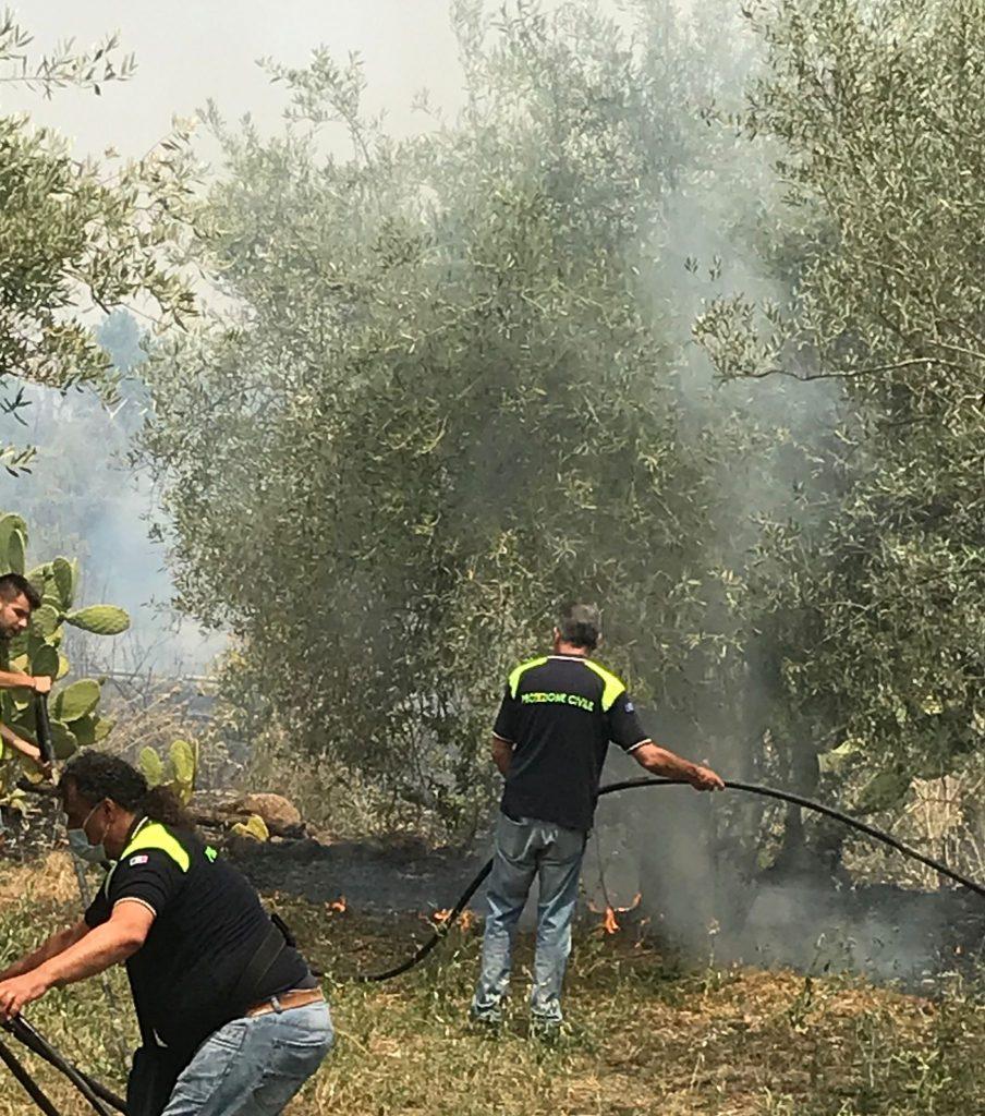 Incendi Protezione Civile Fiamme