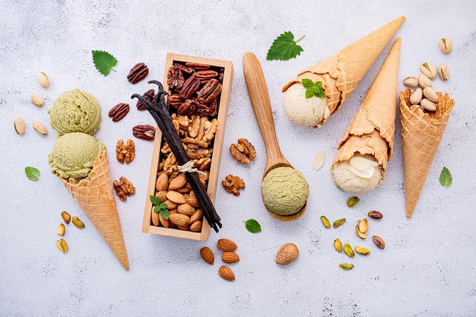 gelati al pistacchio