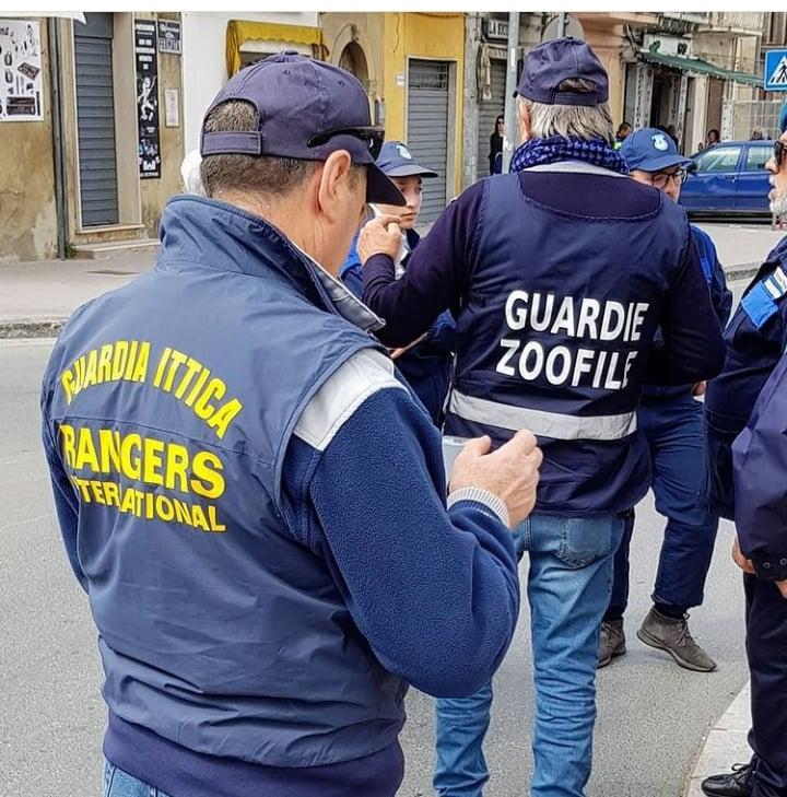 Rangers Non Abbandoniamo Animali Guardie Zoofile