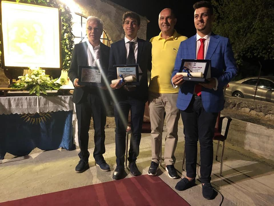 Matteo E Giuseppe Premiazione Sindaco Terzo