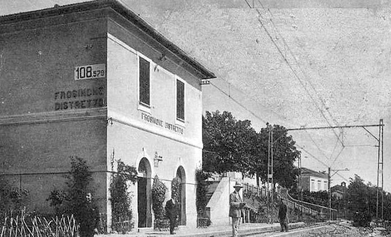 il trenino di Frosinone- stazione