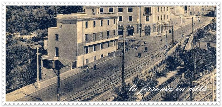 il trenino di Frosinone- la ferrovia in città