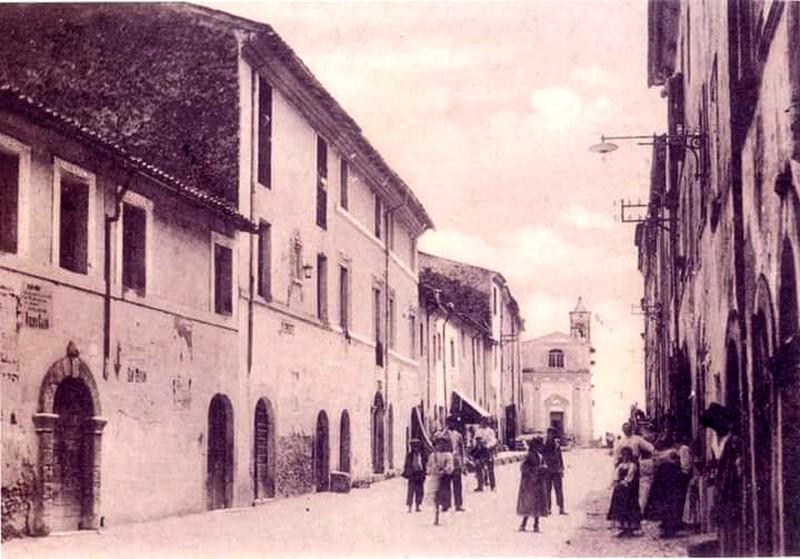 chiesa demolita di Sant'Antonio di Frosinone- veduta