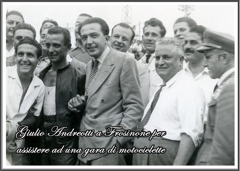 il monumento mastroianni di Frosinone- Andreotti
