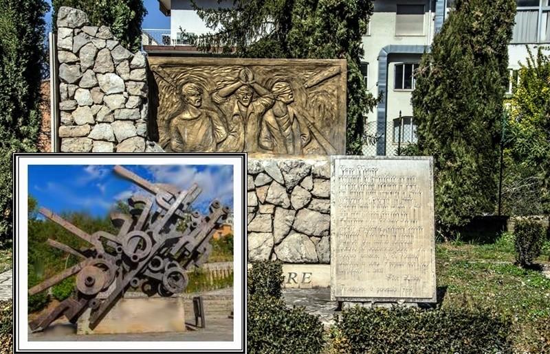 il monumento Mastroianni di Frosinone- monumento