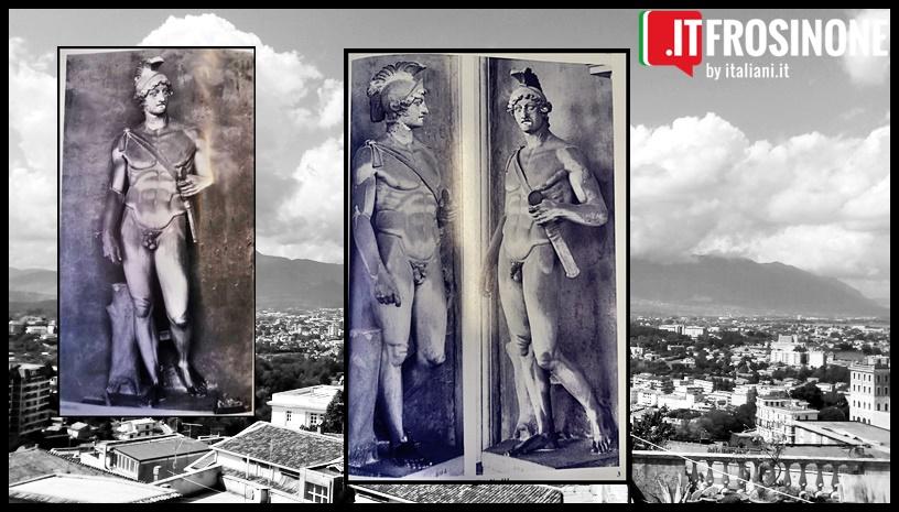 statua del dio Marte rinvenuta a Frosinone- statua