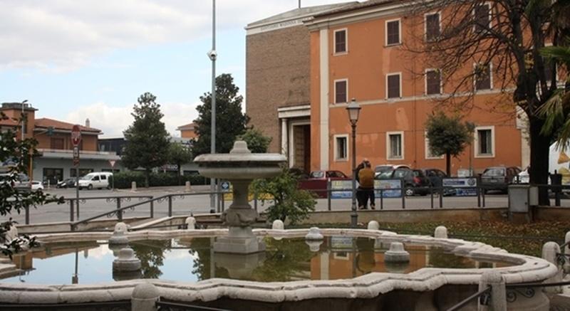 fiera di Santa fausta- fontana