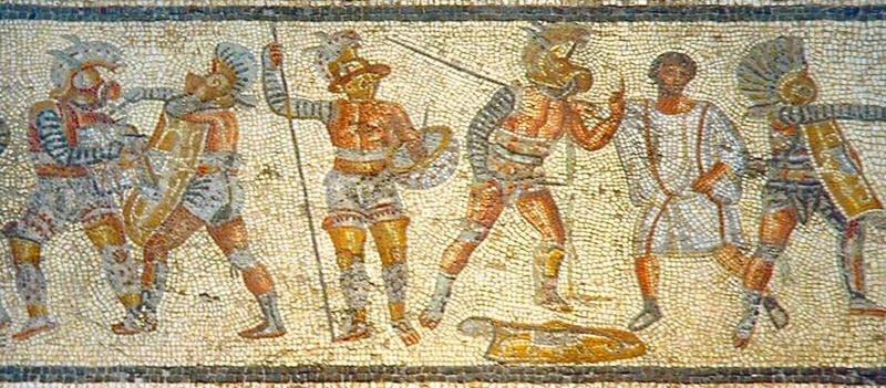 l'anfiteatro di Frosinone- gladiatori