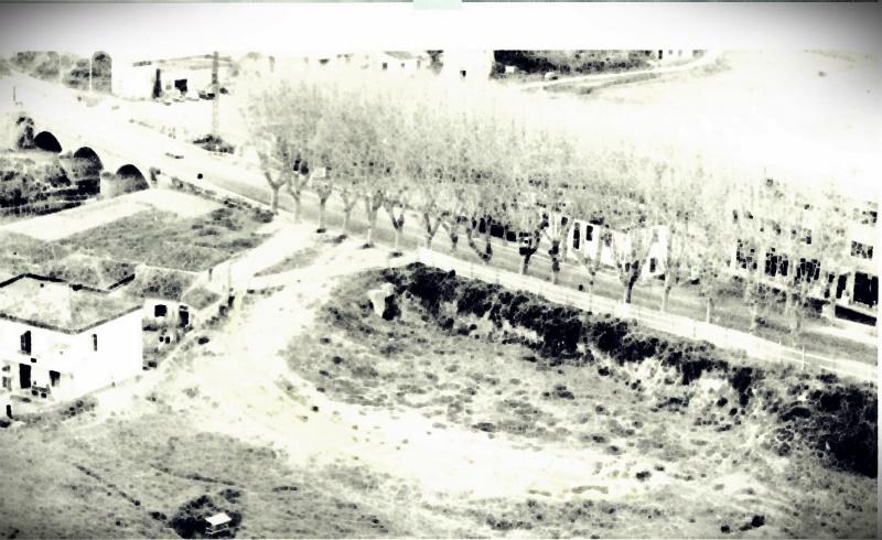 l'anfiteatro di Frosinone- foto antica