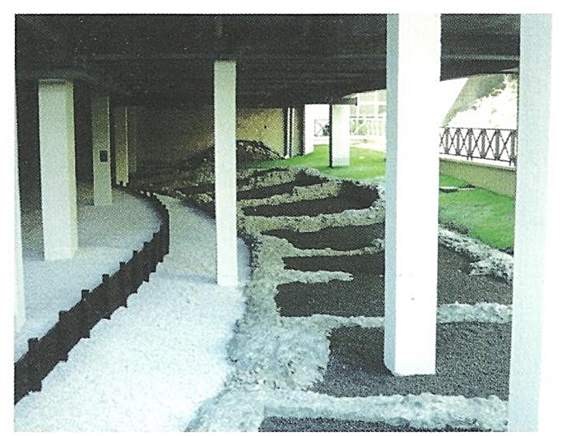 l'anfiteatro di Frosinone- fondamenta