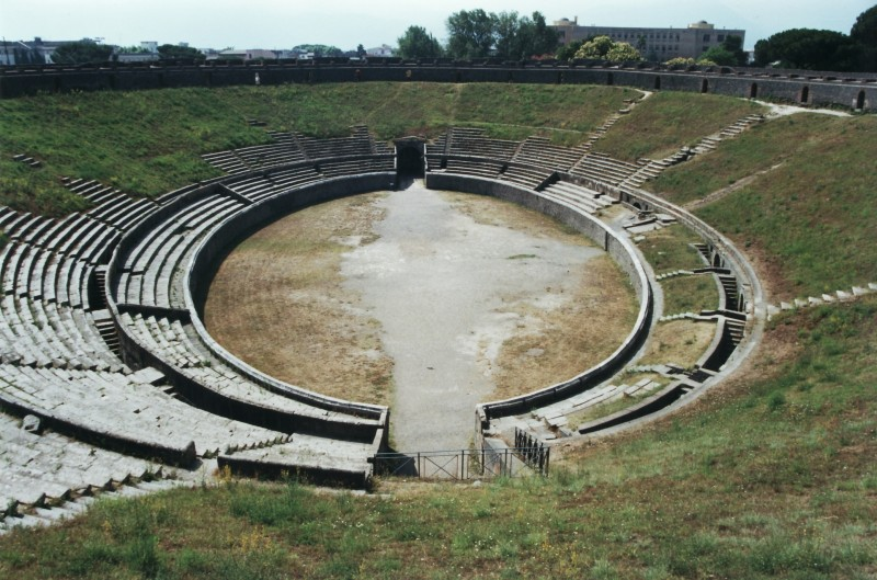 l'anfiteatro di Frosinone