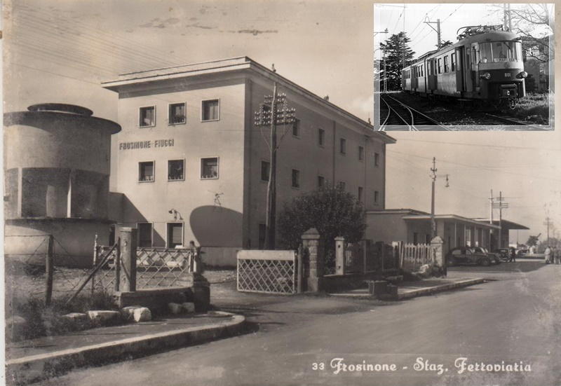 Trenino Di Frosinone- foto antica