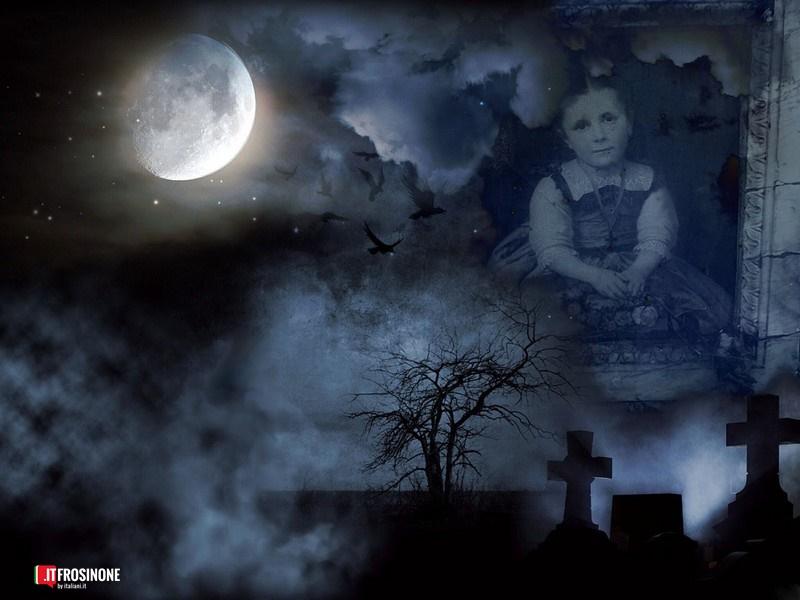 La bambina prima entrata nel cimitero di Frosinone- fantasma