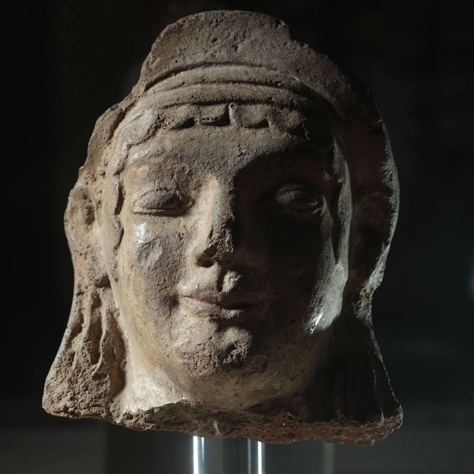 museo archeologico di Frosinone- testa