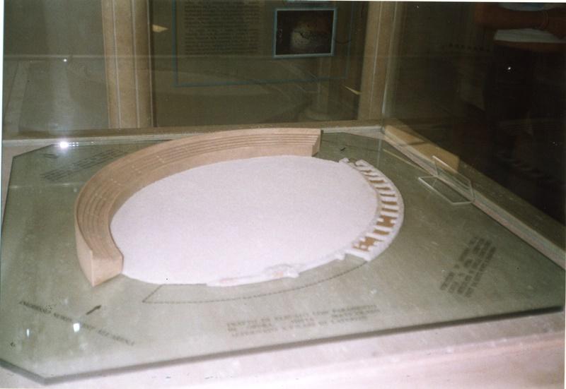 museo archeologico di frosinone- plastico