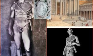 statua del dio marte rinvenuta a Frosinone