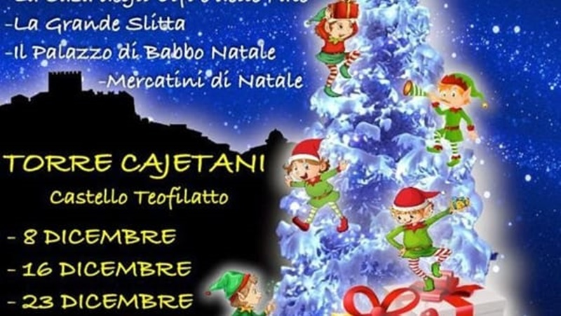 venti a Frosinone per l'otto dicembre - castello