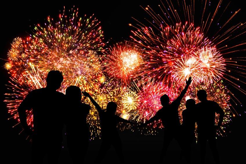 Capodanno in piazza in Ciociaria- fuochi d'artificio
