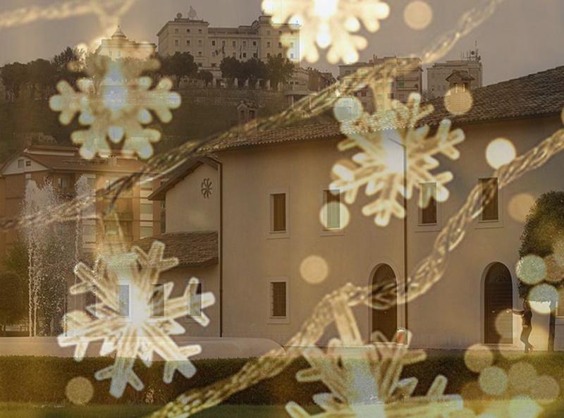 eventi di Natale a Frosinone- villa comunale