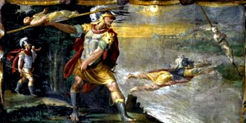 camilla regina dei volsci - re metabo salva la figlia camilla