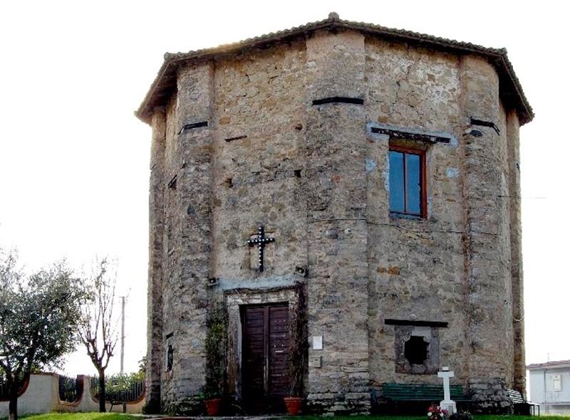 Chiesa Madonna Della Delibera- immagine precedente ai restauri