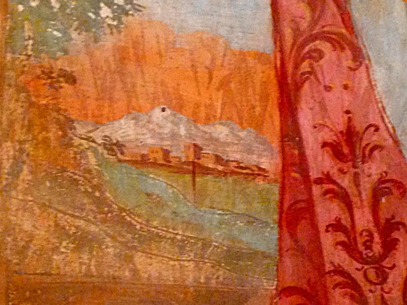 Chiesa Madonna Della Delibera - dettaglio di Frosinone quando aveva la mura