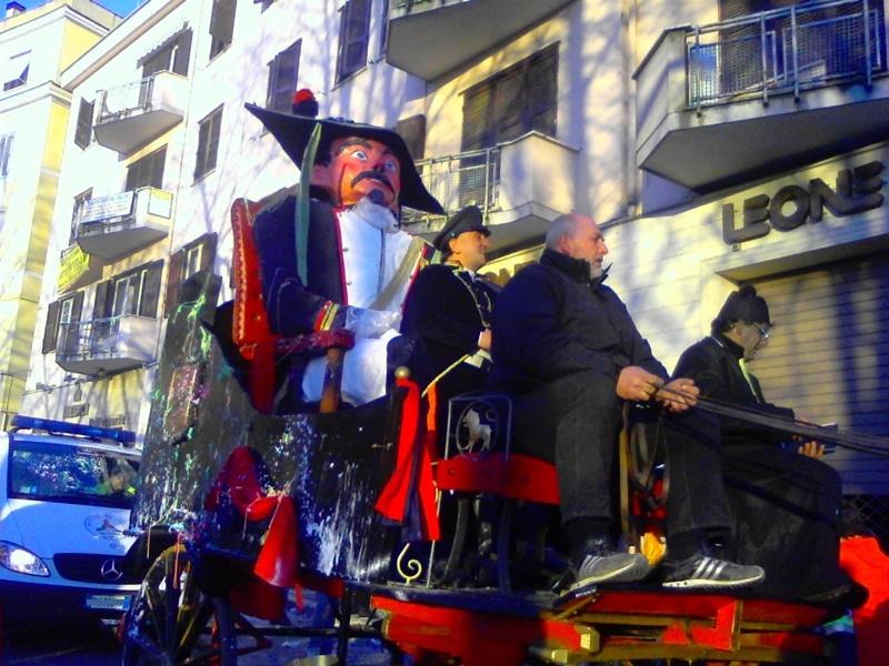 La Radeca - carro con il generale