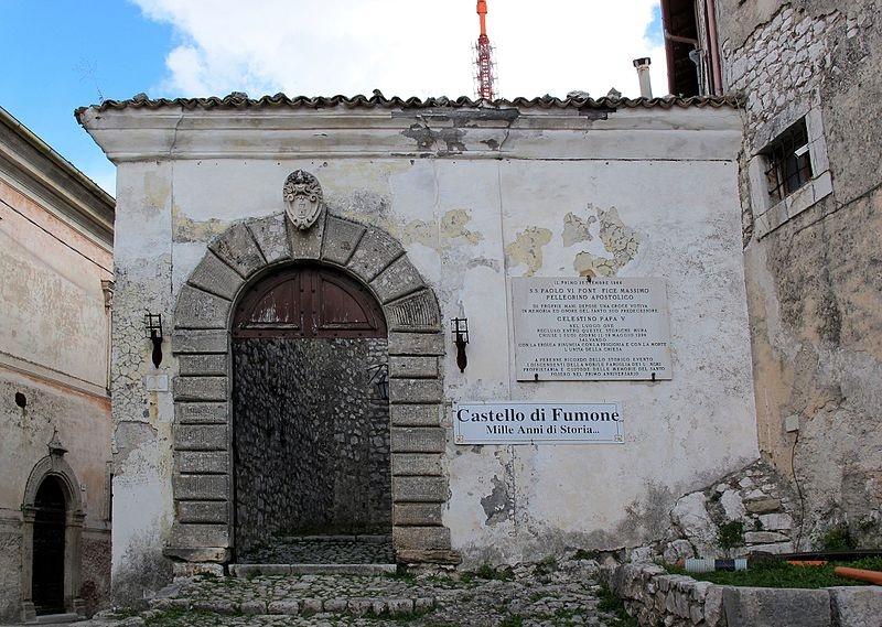 I Misteri Di Fumone - entrata del castello
