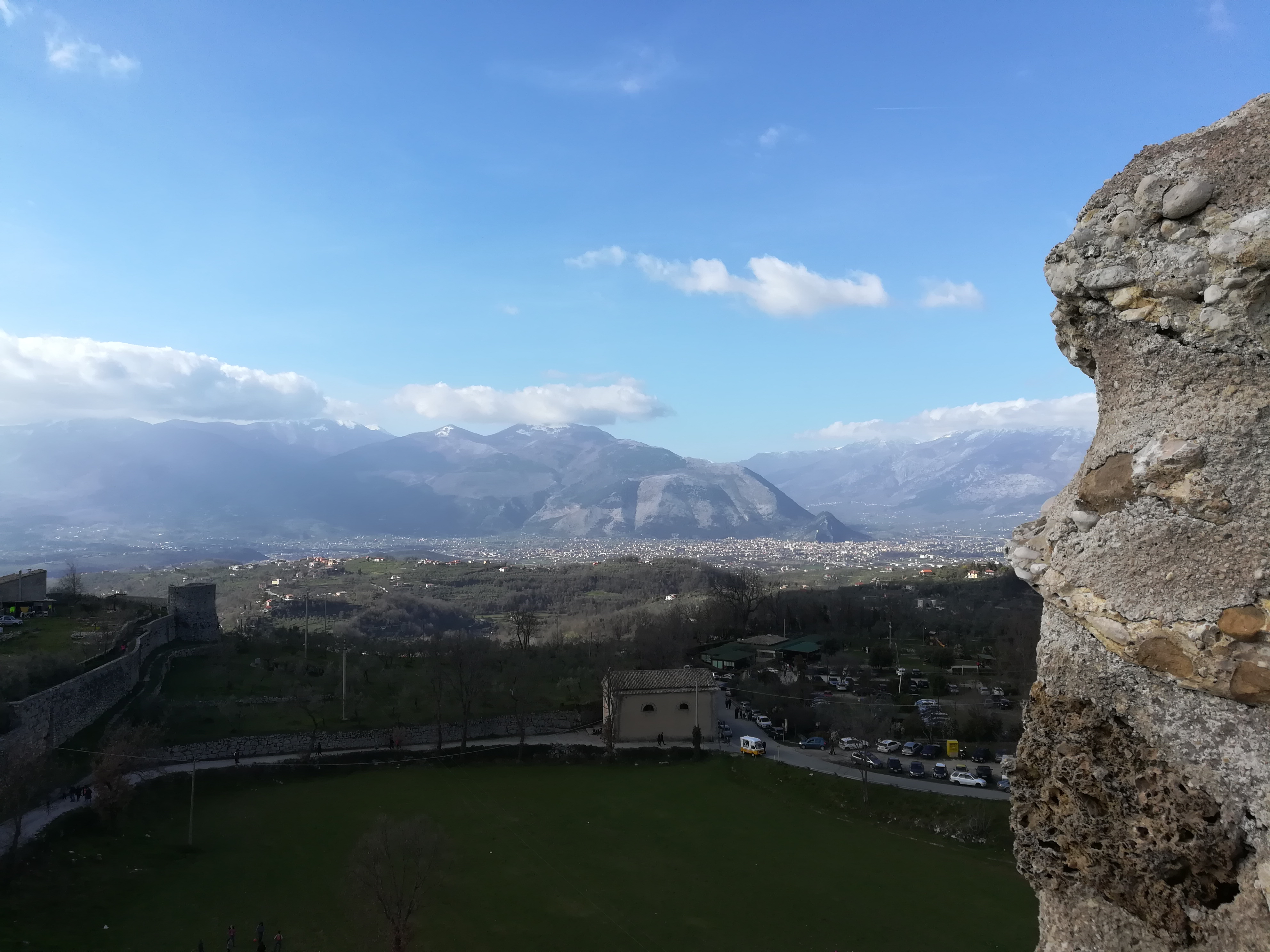 Civita vecchia di Arpino - Panorama Della Parte Vecchia