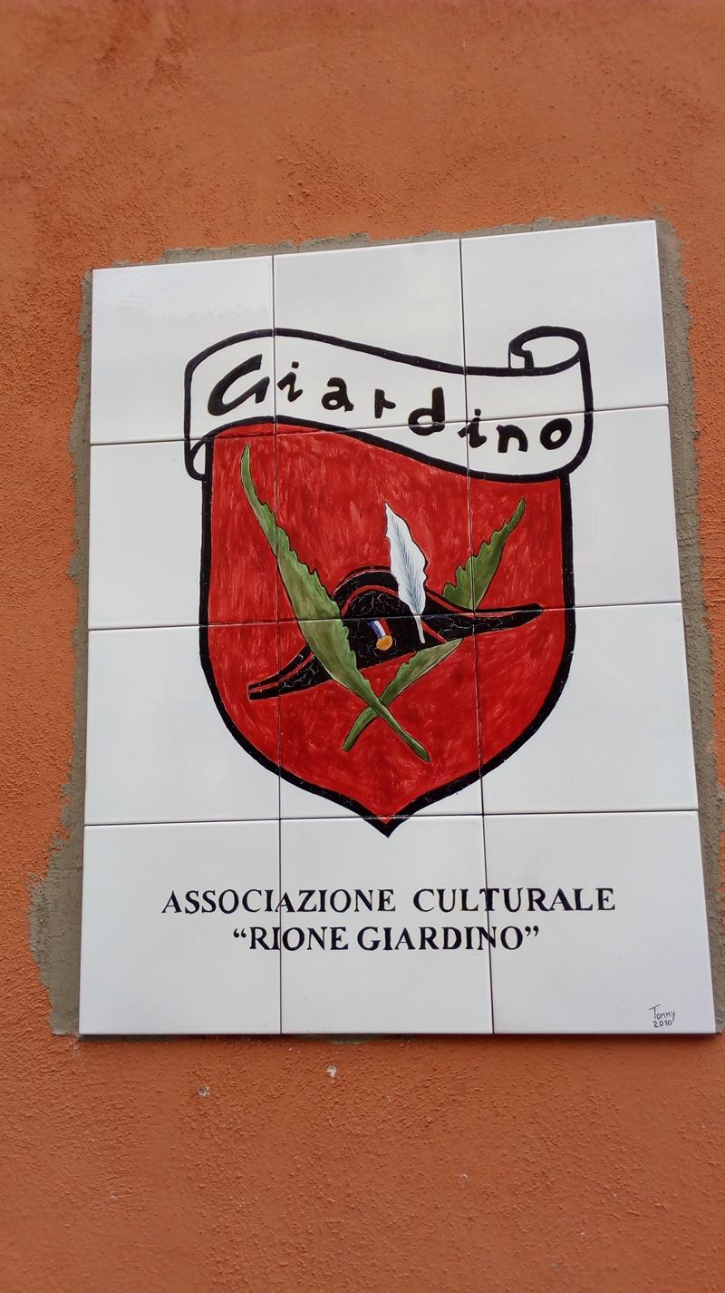 Rione Giardino- stemma del Rione Giardino