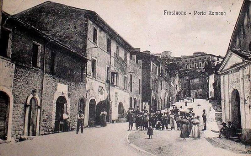 Rione Giardino- antica foto del Rione Giardino