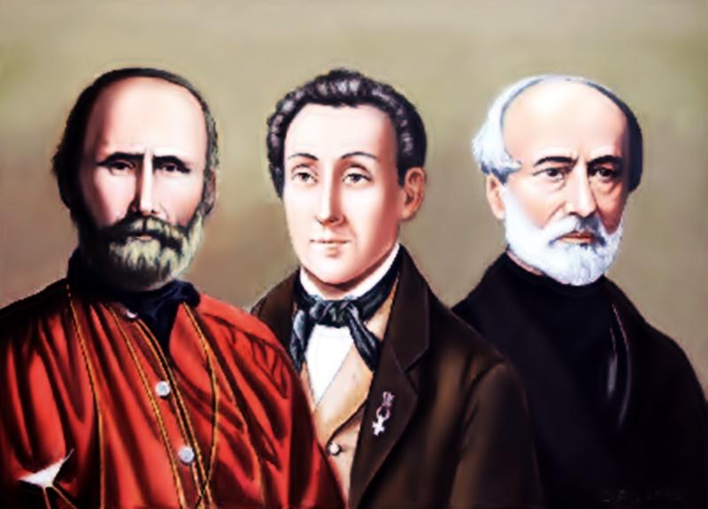 nicola ricciotti - immagine di Ricciotti, Garibaldi e Mazzini
