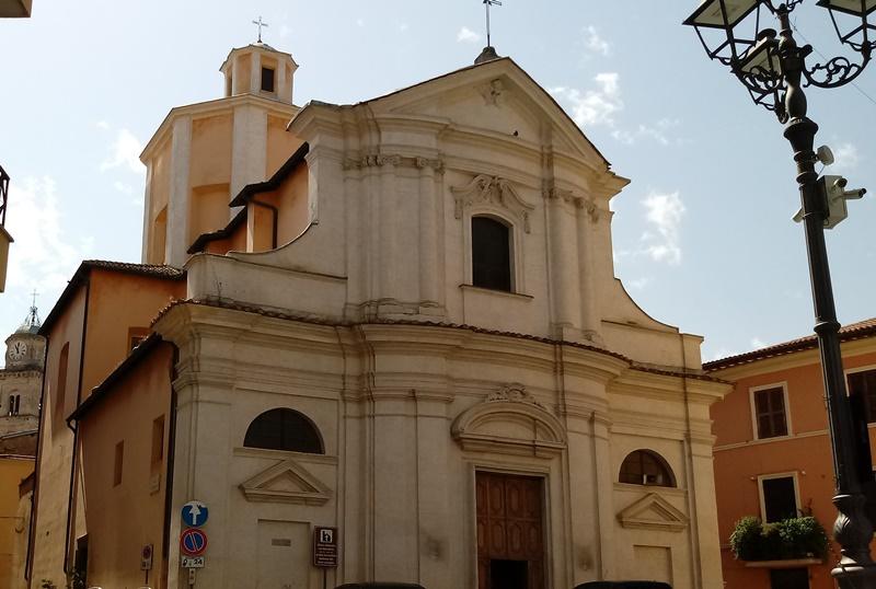 La madonna del buon consiglio - foto della chiesa di San Benedetto