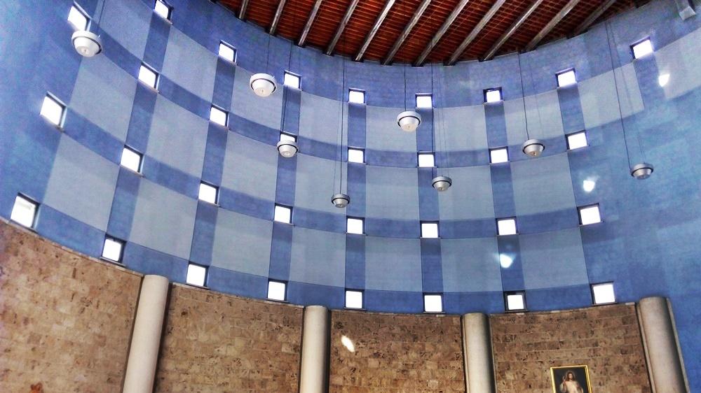 San Paolo Ai Cavoni - area cilindrica della parrocchia