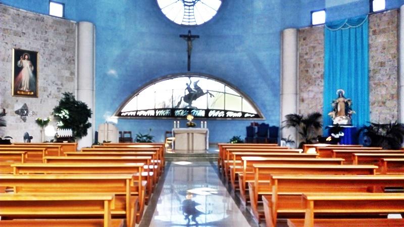 San Paolo ai Cavoni - immagine della navata della chiesa