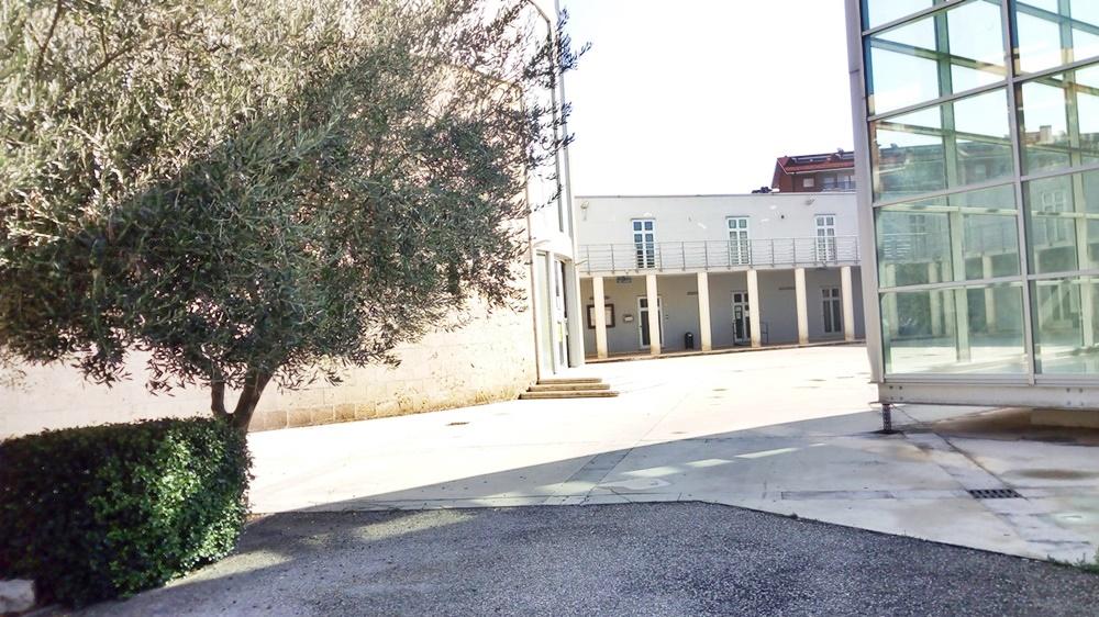 San Paolo ai Cavoni - veduta del complesso della parrocchia