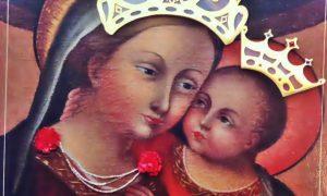 La madonna del buon consiglio - foto del Dipinto in primo piano