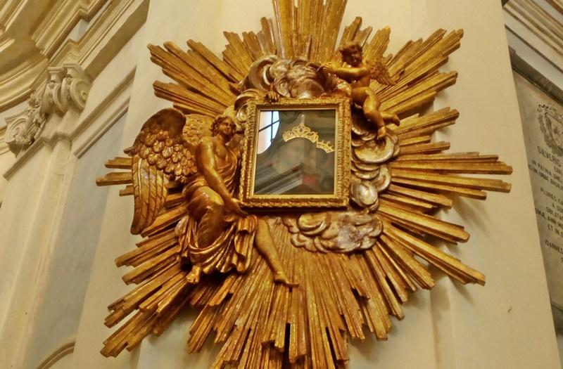 La madonna del buon consiglio - Dipinto Mariano dopo il restauro