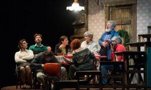 parenti serpenti al teatro Nestor - Il Cast in scena