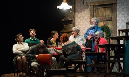 parenti serpenti al teatro Nestor - Il Cast in scena