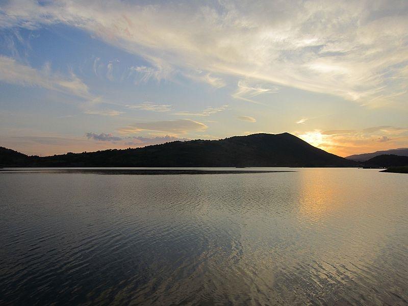 Lago di Canterno - Il Lago Di Canterno al tramonto