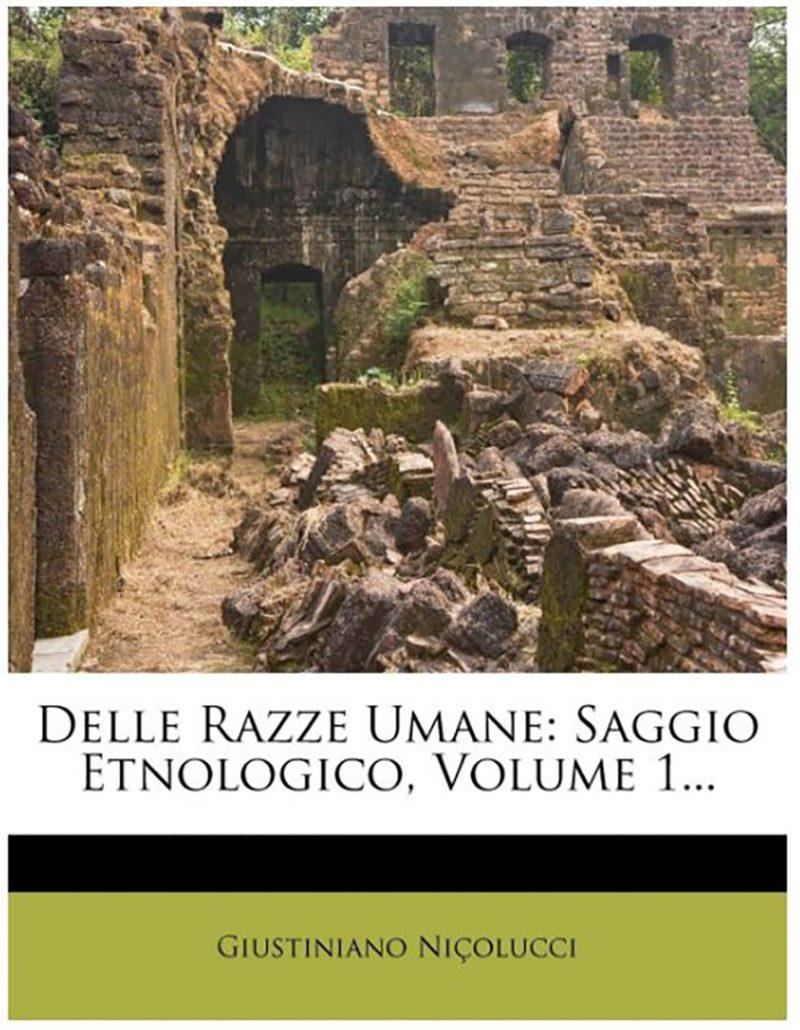 Giustiniano Nicolucci - libro più importante di Nicolucci