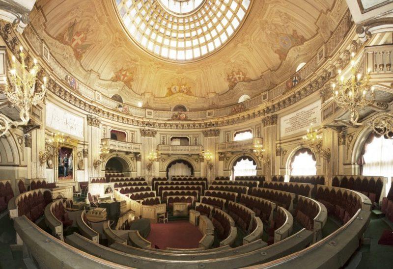 Giustiniano Nicolucci - Parlamento a Torino