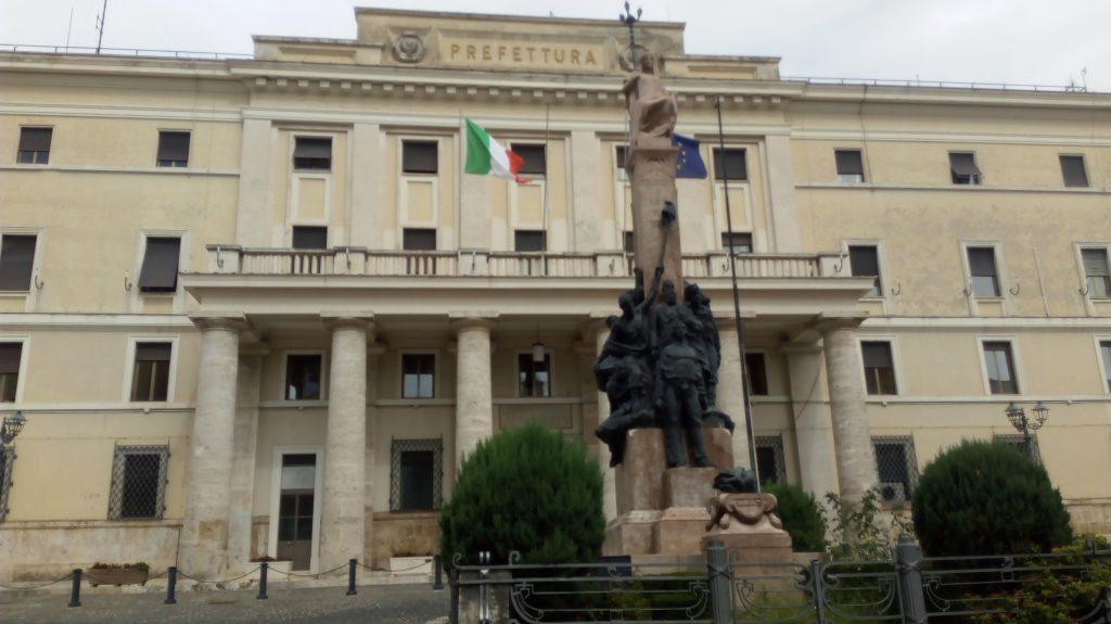 nicola ricciotti - in evidenza il monumento dedicato ai martiri ciociari