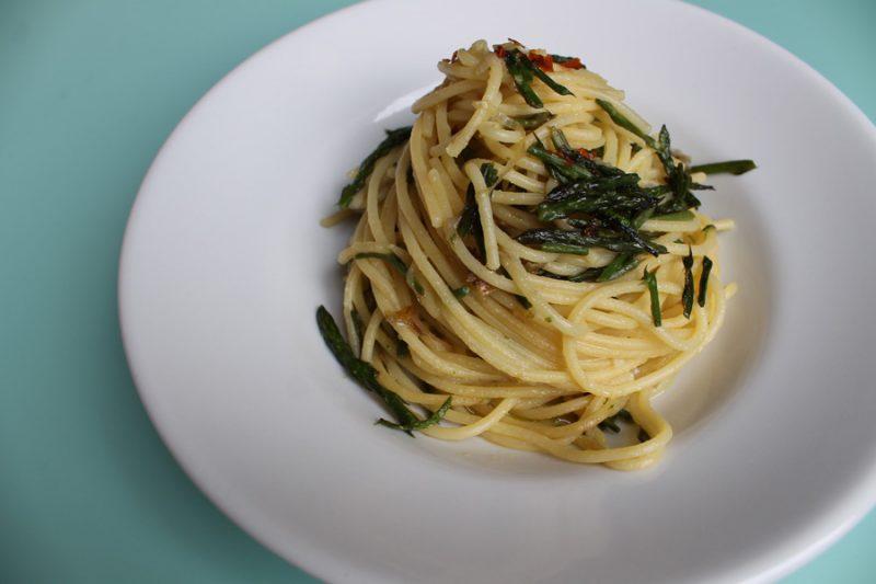 Asparagi selvatici - primo piatto molto amato